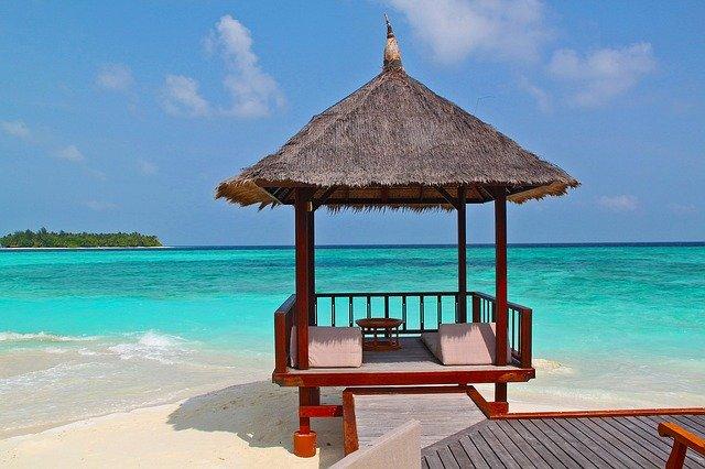 パラオ諸島の海